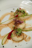Spicy scallop serve in Thai style Royalty Free Stock Photography