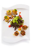 Spicy scallops Royalty Free Stock Photography
