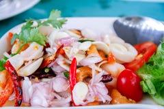 Spicy Sea Food Stock Photo