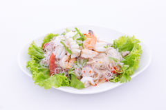 Spicy seafood salad Stock Photography