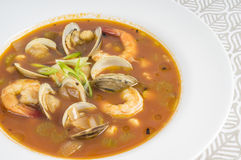 Spicy Seafood Soup #1 Stock Photo