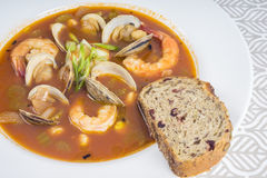 Spicy Seafood Soup #2 Stock Image