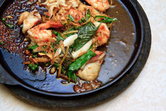 Spicy Seafood, Thai food Stock Photo