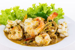 Spicy seafood from Thailand Asia Stock Photos