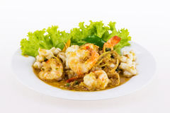 Spicy seafood from Thailand Asia Stock Photography