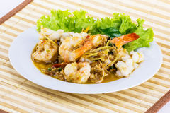 Spicy seafood from Thailand Asia Royalty Free Stock Photo