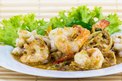 Spicy seafood from Thailand Asia Royalty Free Stock Photos