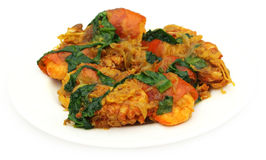 Spicy shrimp curry Stock Photography