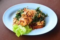Spicy Shrimp Suaeda maritime Stock Photos