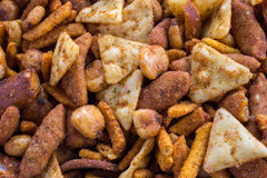 Spicy snack mix Stock Photos