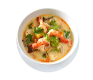 Spicy soup Royalty Free Stock Images