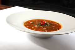 Spicy Soup Mexican style Stock Images