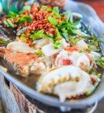 Spicy soup Stock Photos