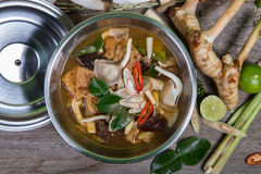 Spicy soup traditional food cuisine Royalty Free Stock Photo