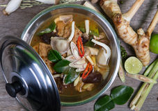 Spicy soup traditional food Stock Images