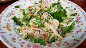 Spicy sour tuna Stock Photo