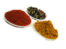 Spicy spices Royalty Free Stock Photos
