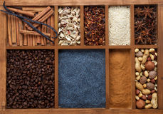 Spicy Spices for Baking Stock Photos