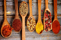 Spicy Spices Stock Photo
