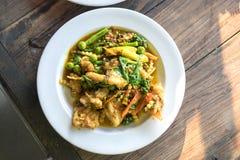 Spicy Stir Fried Fish Stock Photos