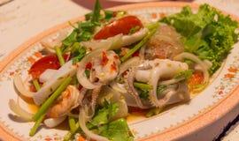 Spicy Stir Fried Sea Food. Stock Image