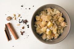 Sweet and spicy couscous Stock Photo