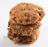 Spicy and tasty Dal Vada parippu vada Royalty Free Stock Photography