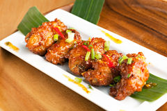 Spicy Thai Chicken Wings Stock Images