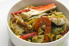 Spicy Thai Crab Soup Royalty Free Stock Images