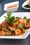 Spicy Thai Food stock images