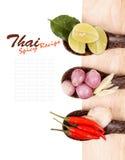 Spicy Thai food ingredients stock photos