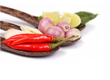 Spicy Thai food ingredients Royalty Free Stock Photo