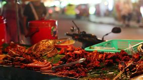 Spicy Thai foods on street Stock Photography