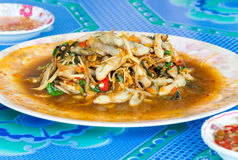 Spicy Thai fried Stock Images