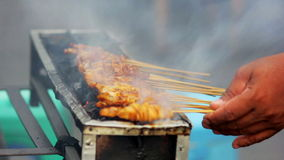spicy thai indonesian street food Royalty Free Stock Photo
