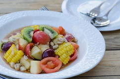 Spicy Thai Mixed Fruit Salad Royalty Free Stock Photography
