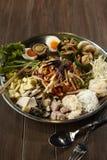 Som Tum. Spicy thai salad Som Tum Royalty Free Stock Image