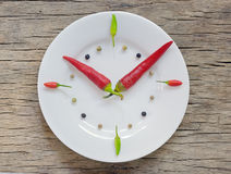 Spicy times Royalty Free Stock Images