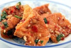 Spicy Tofu Royalty Free Stock Image
