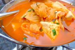 Free Spicy Tofu Soup Stock Photos - 34975393