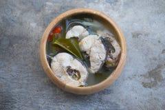Spicy TOM YAM fish Royalty Free Stock Photo