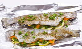 Spicy trout Royalty Free Stock Images