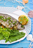 Spicy trout Royalty Free Stock Photo
