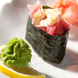 Spicy Tuna Gunkan Stock Image