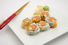 Spicy Tuna Roll. Lunch appetizer Stock Images