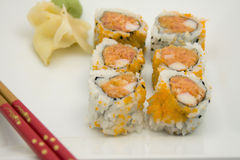 Spicy Tuna Roll Royalty Free Stock Photography