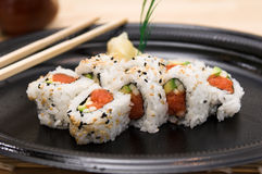 Spicy Tuna Roll Royalty Free Stock Image