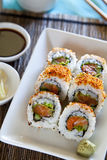 Spicy Tuna roll sushi Royalty Free Stock Image