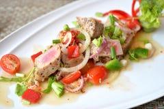 Spicy tuna salad Royalty Free Stock Image