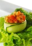 Spicy Tuna Sushi Stock Photo